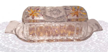 Crystal Butter Dish