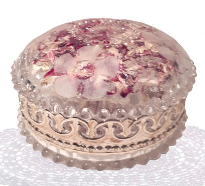 Crystal Rose Dish